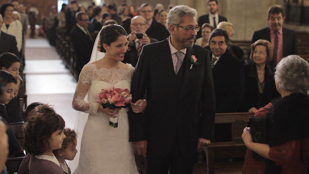 cinematic wedding film in spain